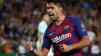 Luis Suárez, decisivo en la victoria del Barcelona ante el Inter por Champions