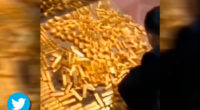 ¡Corrupción sin límite! Descubren 13,5 toneladas de oro en casa de un alcalde chino