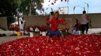 Con lluvia de pétalos, Armero conmemora 34 años de la peor tragedia colombiana