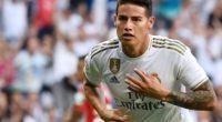 No entrena, pero viaja con Colombia: el sombrío presente de James en Real Madrid