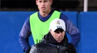 James no entrena con el equipo y no es por decisión técnica: Zidane