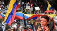 El paro ya terminó; nada de oportunismo politiquero: presidente de la CGT a Petro