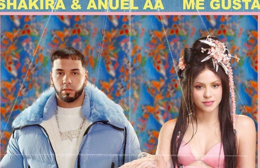 A Shakira le gustó la onda reguetonera, ahora lanza canción con Anuel AA
