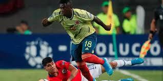 ¡Con lo justo! Colombia empató con Chile y clasificó a fase final del Preolímpico