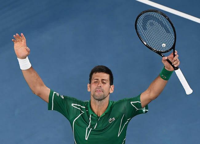 Djokovic derrotó a Federer y va por su octavo título en Melbourne