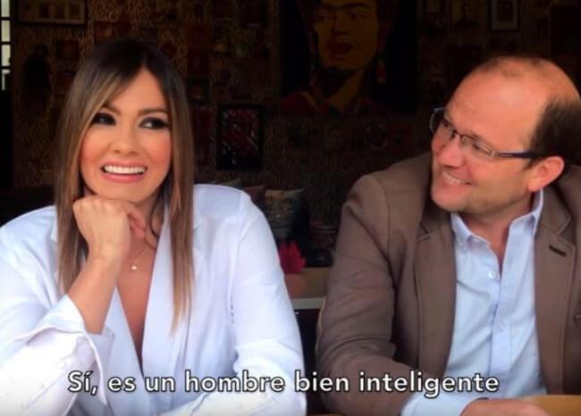 El político colombiano con el que Esperanza Gómez grabaría una escena de sus películas