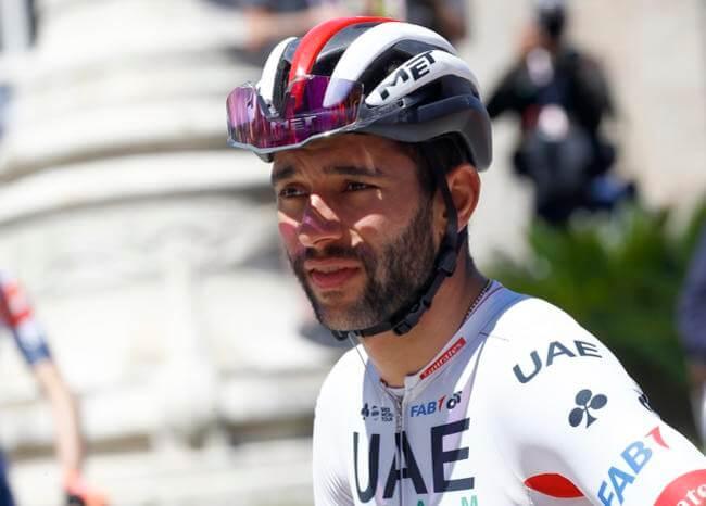 Fernando Gaviria vuela en el Valle Fértil y gana la cuarta etapa de Vuelta San Juan
