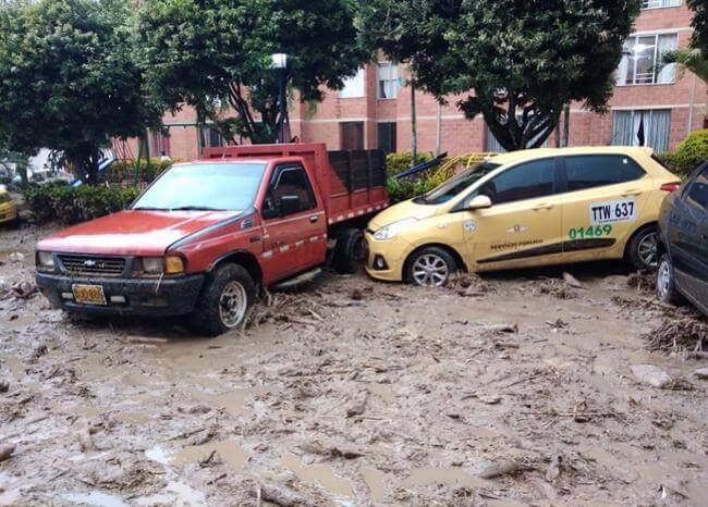 Incomunicados por lluvias varios municipios de Santander