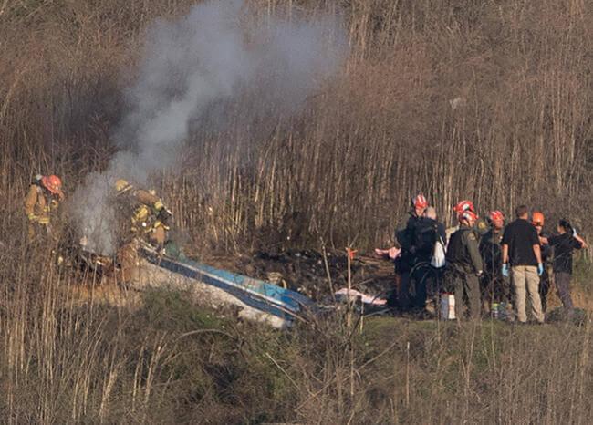 ¿Por qué se cayó el helicóptero de Kobe Bryant?