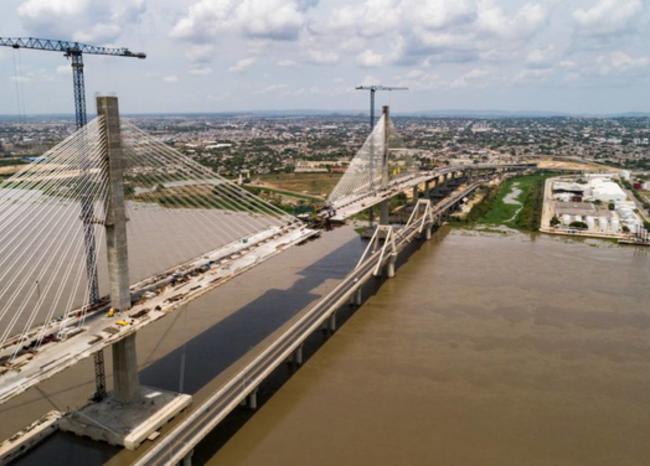 A $1.000 millones ascenderían pérdidas por robos en el puente Pumarejo