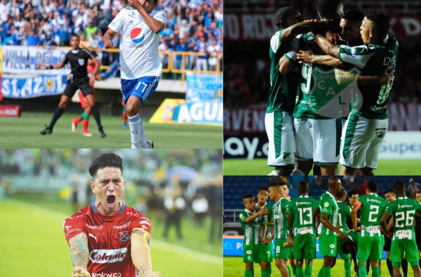 Deportivo Pasto, Atlético Nacional y América comandan la Liga en Colombia