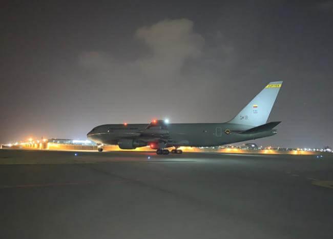 Avión Júpiter ya salió de Seúl rumbo a Wuhan para recoger a colombianos