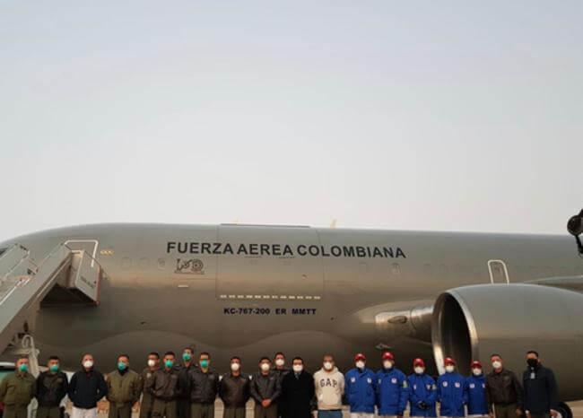 Conozca el protocolo de llegada y traslado de colombianos que llegaron de Wuhan