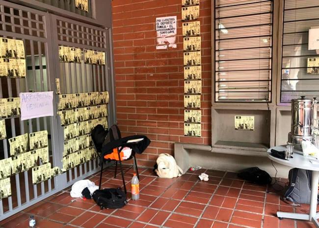 Universidad de Antioquia no ha podido pagar nómina por bloqueo estudiantil