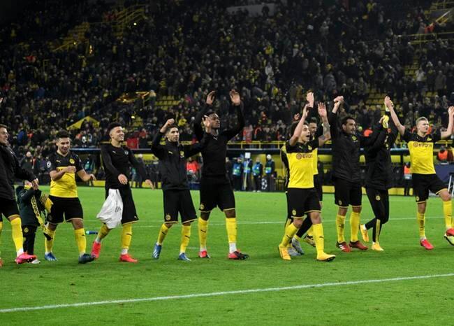 Borussia Dortmund hizo respetar su casa y tomó ventaja contra PSG