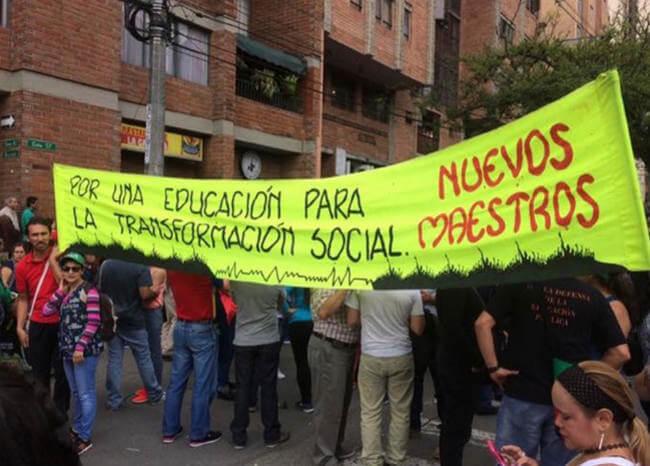 Prepárese: Convocan una marcha y cuatro plantones para este jueves en Medellín