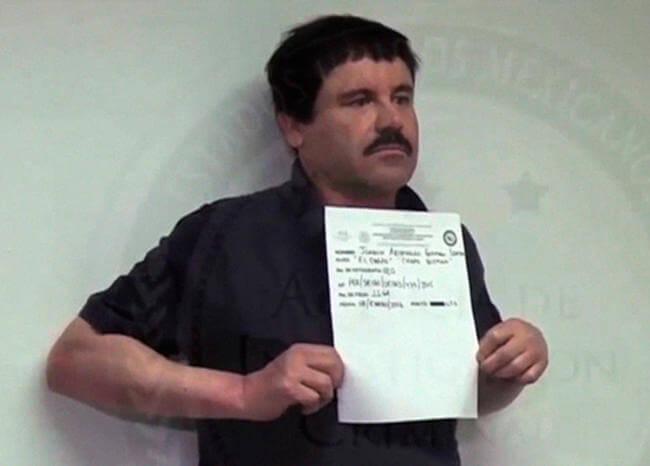 Revelan impactantes imágenes de la última captura del 'Chapo' Guzmán
