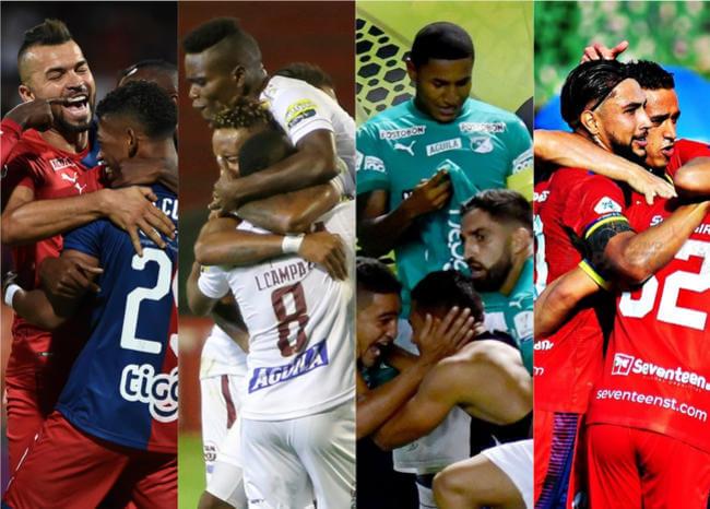 Así jugarán los equipos colombianos en la nueva fecha de Libertadores y Sudamericana