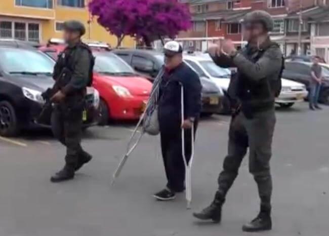 'Martín Sombra' delinquía y fingía ser mediador para liberar secuestrados: Policía