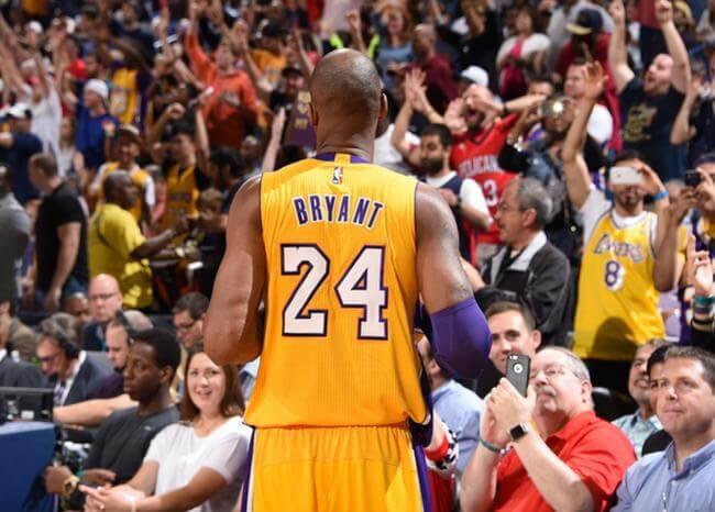 En lista: Kobe Bryant es finalista para entrar al Salón de la Fama de la NBA