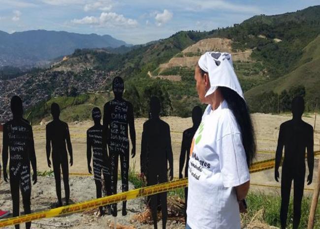Medellín seguirá ejemplo de Japón para buscar a desaparecidos en la Comuna 13