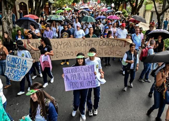 Nueva jornada de protestas este viernes en varias ciudades del país