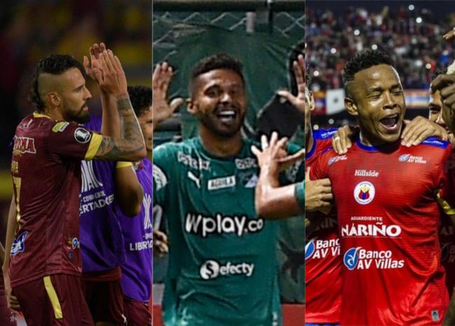 Tolima, cerca de fase de grupos en Libertadores; Cali ganó y Pasto alista su debut