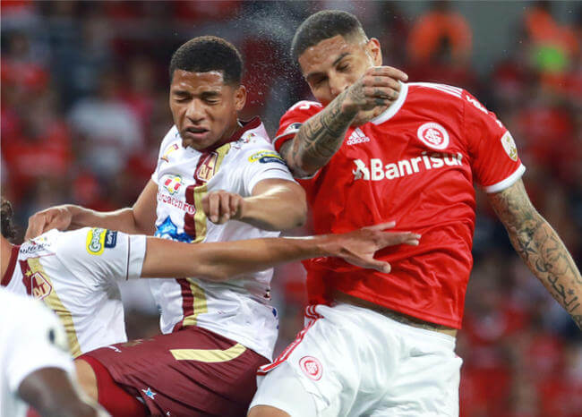 Tolima, eliminado de la Copa Libertadores tras perder con Internacional