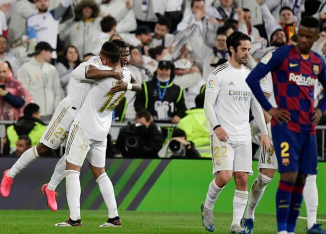 ¡Un golpe en la mesa! Real Madrid venció al Barcelona y recupera el liderato de La Liga