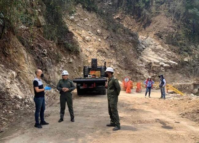 Con puente militar recuperarán movilidad entre Curos y Málaga en Santander