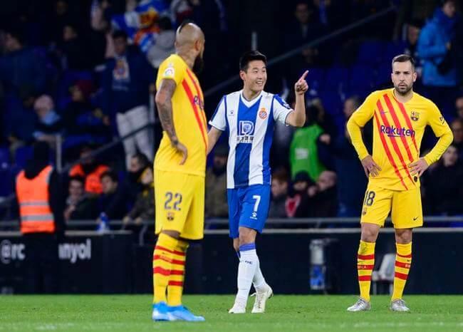 Wu Lei, jugador del Espanyol, dio positivo a COVID-19