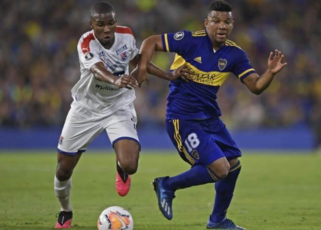 Boca goleó a Medellín en La Bombonera y lo dejó mal parado en la Libertadores