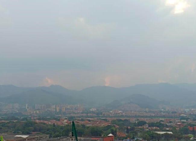 En rojo: no mejora la calidad del aire en Medellín y el Valle de Aburrá