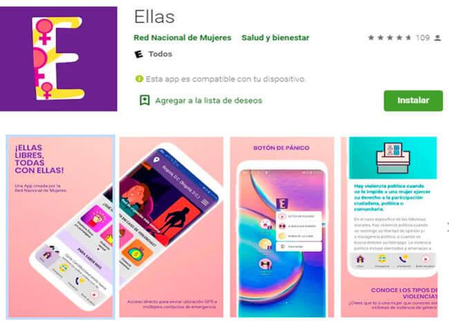 Ellas, la app para denunciar violencia de género, se reedita
