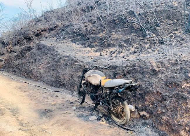Falleció joven que intento apagar incendio forestal en Quetame, Cundinamarca
