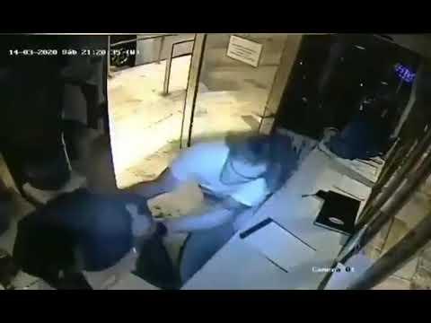 Por resistirse a cumplir cuarentena, hombre dio brutal golpiza a un vigilante