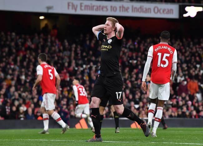 Por cuarentena de jugadores del Arsenal, postergan partido ante Manchester City