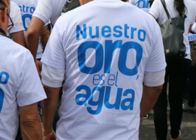 Ambientalistas suspenden marcha por Santurbán en Bogotá