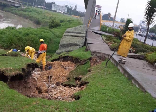 Sismo de este sábado causó grave daño que dejará a gran parte de Chía sin agua