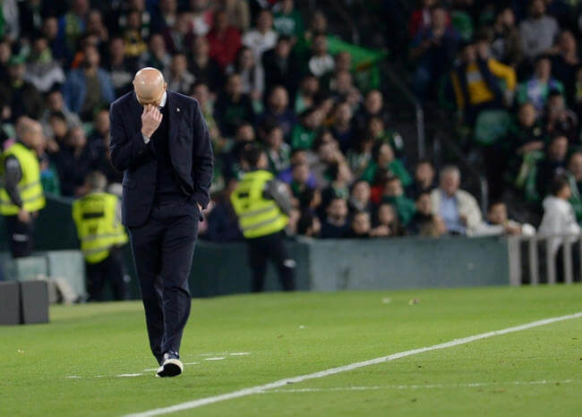 """""""El peor partido de la temporada»: así calificó Zidane derrota del Real Madrid"""