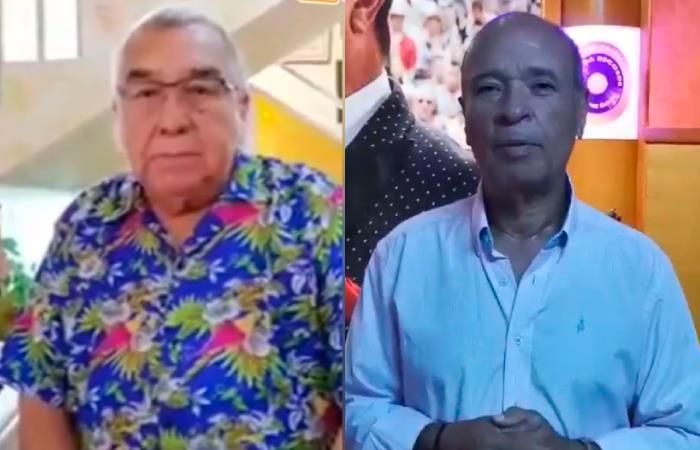 Alci Acosta y Luis Alberto Posada piden ayuda para cantantes colombianos