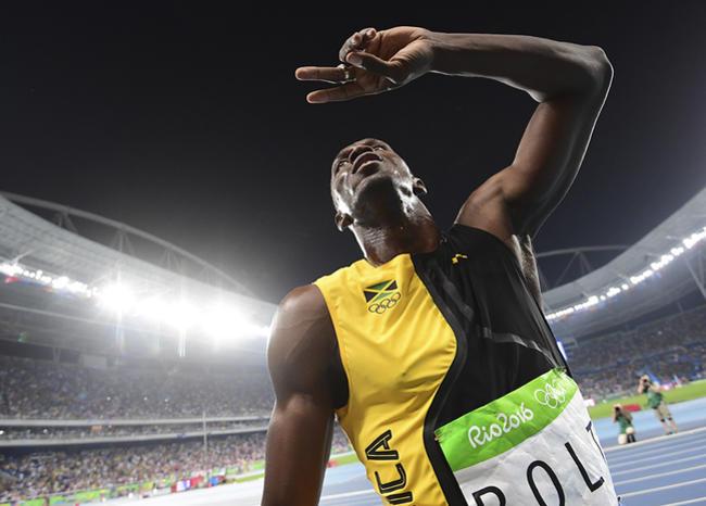 Usain Bolt y la foto más original para promover distanciamiento social por COVID-19