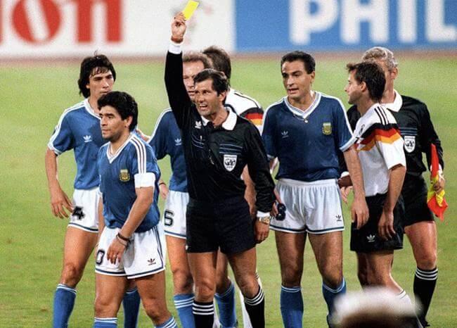 Muy buen jugador, pero despreciable como persona: Codesal sobre Maradona