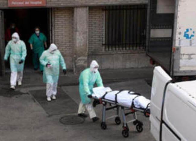 España registra 864 nuevas muertes por coronavirus, su cifra máxima diaria