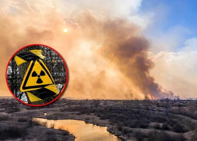 Incendio en Chernobyl preocupa por cercanía con depósitos radioactivos