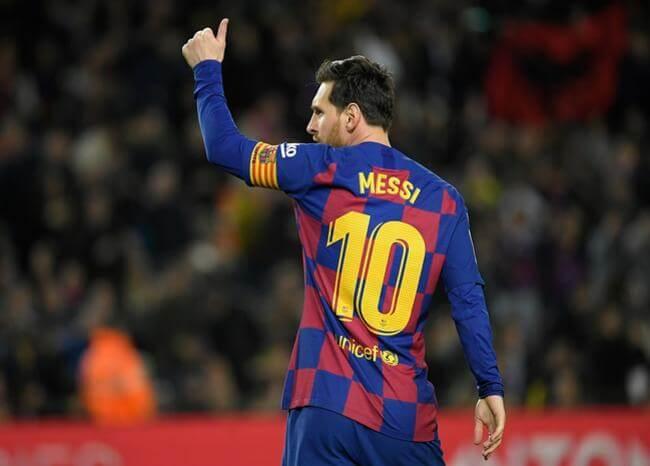 Messi agradece a trabajadores de la salud por su labor en crisis de coronavirus