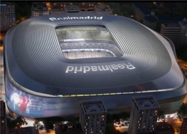 Video: Así será el nuevo y revolucionario Santiago Bernabéu, casa del Real Madrid