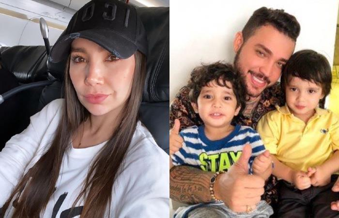 Paola Jara contó por qué Jessi Uribe no está con sus hijos en cuarentena