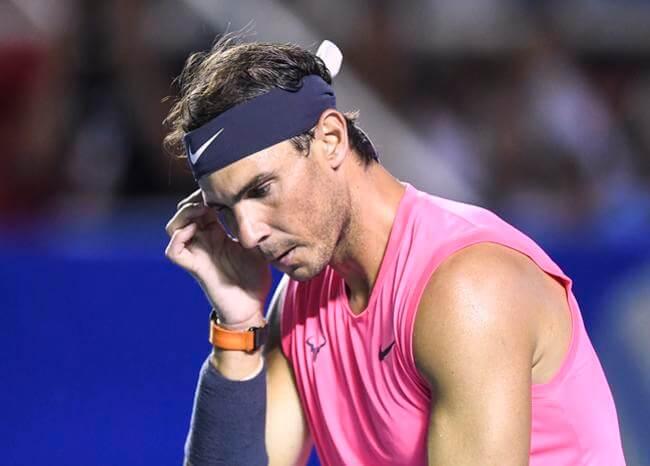 Rafa Nadal ve «difícil» que se pueda jugar un gran torneo a corto o mediano plazo