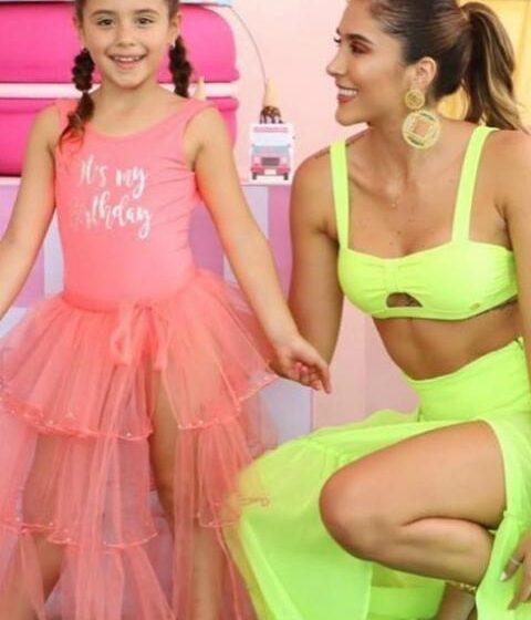 ¡Qué movimientos! Así bailó hija de James Rodríguez junto a Daniela Ospina